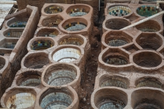 Fez-Leather-Tanning-Pots
