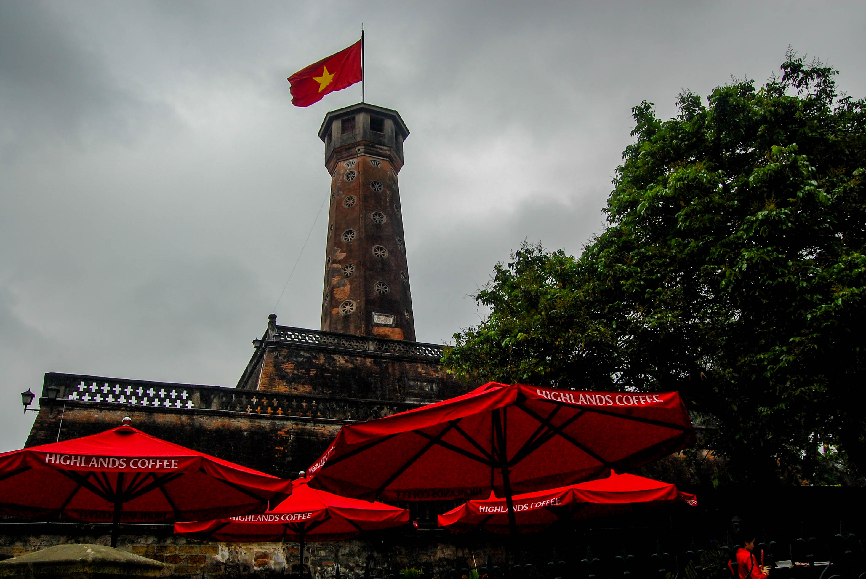 Flag-Tower