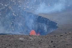 Lava-Spurt