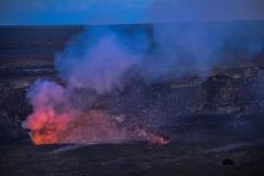 Volcano-at-Night