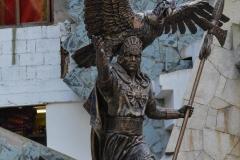 Aguas-Calientes-Statue