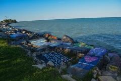 Northwestern-Shoreline-Painted-Rocks-2
