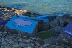 Northwestern-Shoreline-Painted-Rocks-4