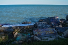 Northwestern-Shoreline-Painted-Rocks