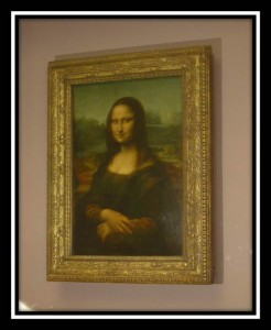The Mona Lisa, Louvre, Da Vinci