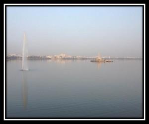 Hussein Sagar Lake
