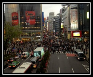 Shibuya Scramble Crossing